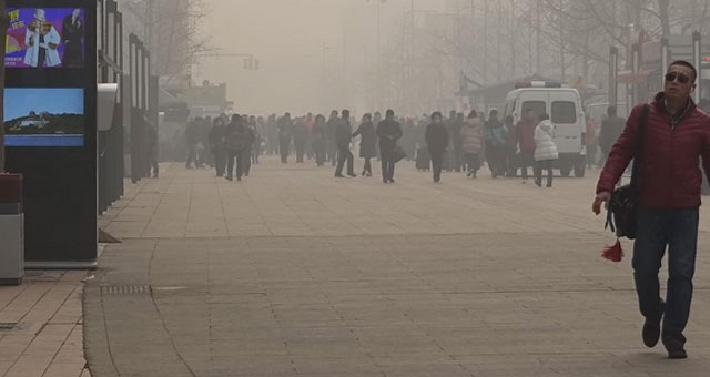 La Chine atteint un niveau de pollution extrême: Top 10 des photos Instagram du #Airpocalypse