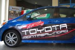 Toyota Montréal-Nord donne une voiture à l'École de l'automobile