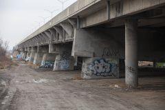 La fermeture du pont de l'Île-aux-Tourtes provoquée par des travaux de maintenance