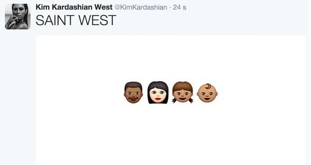 Kim Kardashian dévoile le prénom de son nouveau-né et ce n'est pas South West