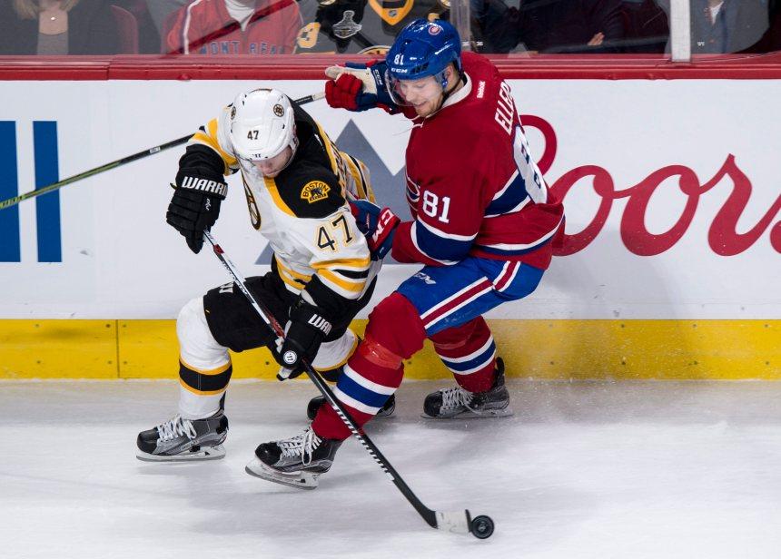 Bruins 3 –Canadien 1: Le CH l'échappe