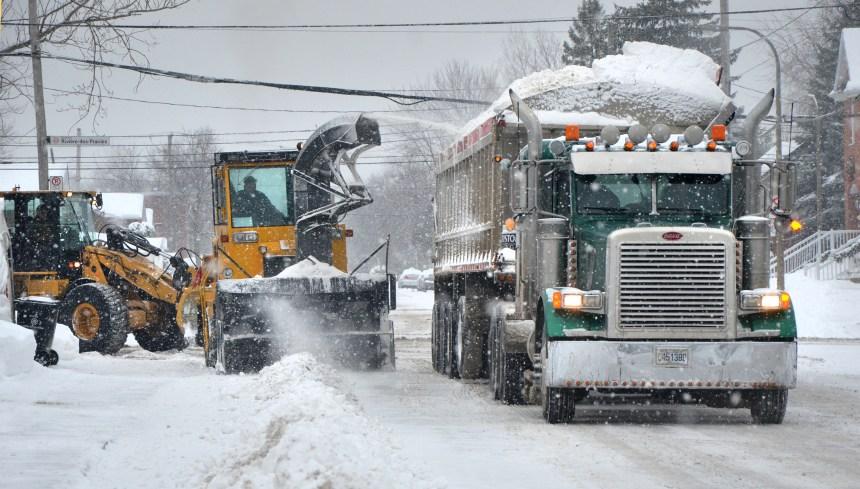 Objectif: déneiger Montréal avant le Nouvel An