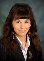 Angelique EagleWoman is seen in the undated photo provided by the subject. A northern Ontario university says the new dean of its law school will be the first aboriginal woman to hold that position in Canada. Lakehead University in Thunder Bay, Ont., has appointed Angelique EagleWoman to lead the Bora Laskin Faculty of Law starting in May, a month before the fledgling law school's first class is set to graduate. THE CANADIAN PRESS/AP - HO, Tracy Rasmussen
