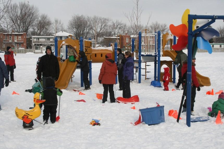 Retour du carnaval hivernal «Tétreault sous la neige»