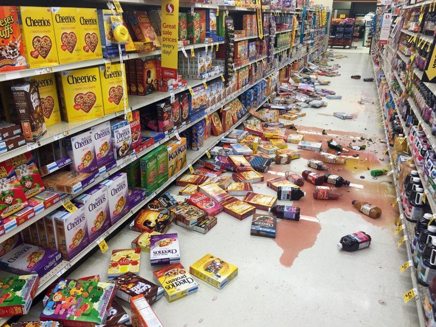 Un séisme de magnitude 7,1 secoue l'Alaska