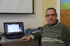 Gilles vient au CLEM depuis 2010 et constate ses nets progrès. Photo Delphine Jung - TC Media