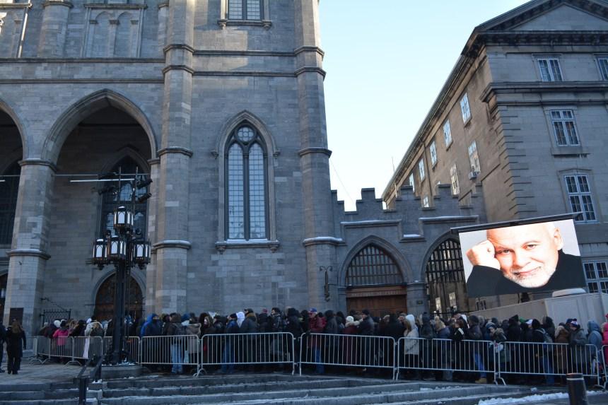 Chapelle ardente pour René Angélil