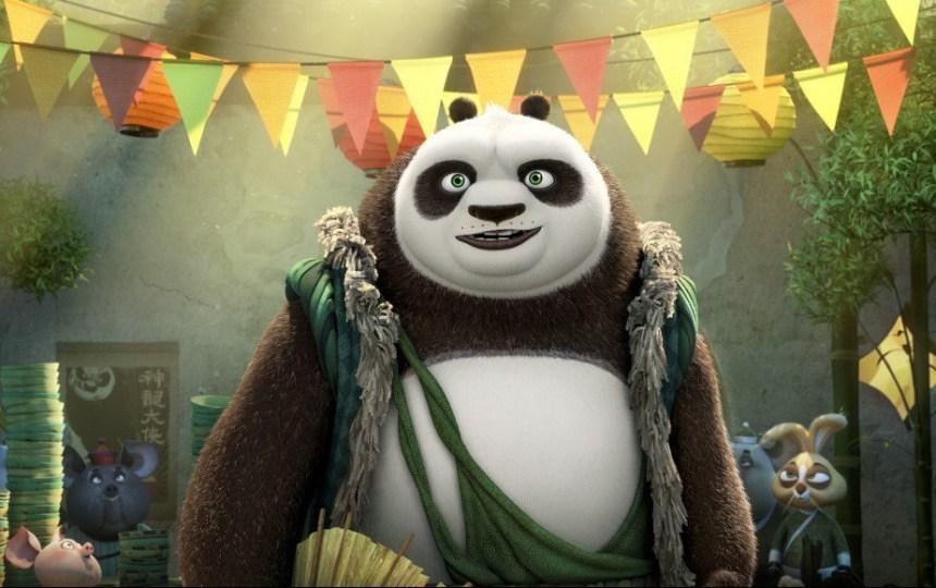 Kung Fu Panda 3: le courage du panda