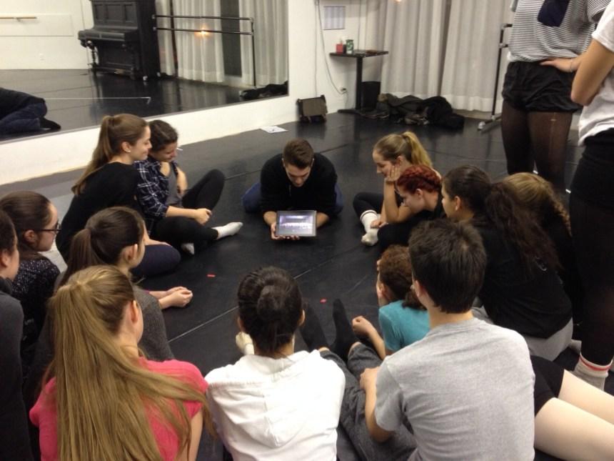 Ballet Ouest en première partie de Cas Public