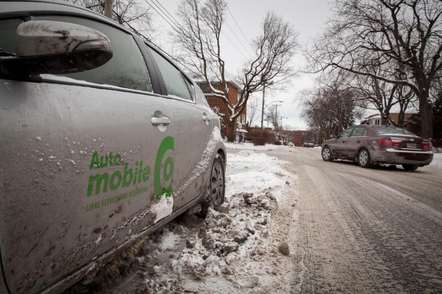 Outremont fait plus de place aux voitures en libre-service