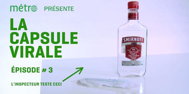 [LA CAPSULE VIRALE] Peut-on se saouler avec un tampon et de la vodka?