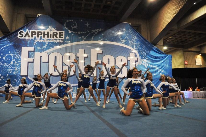 Cheerleading: première place pour les Royalties au FrostFest