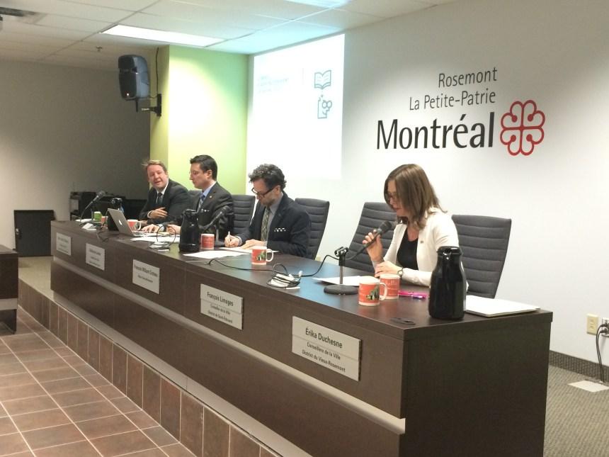 La conseillère Duchesne changée de place au conseil d'arrondissement