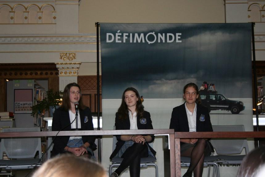 Collège Sainte-Anne: le grand départ des élèves du DéfiMonde