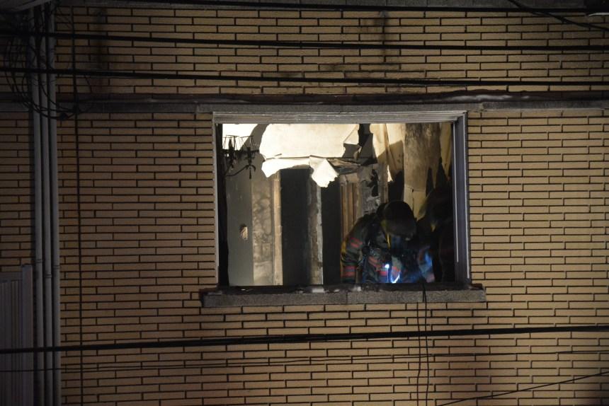 Un incendie force la relocalisation de deux familles