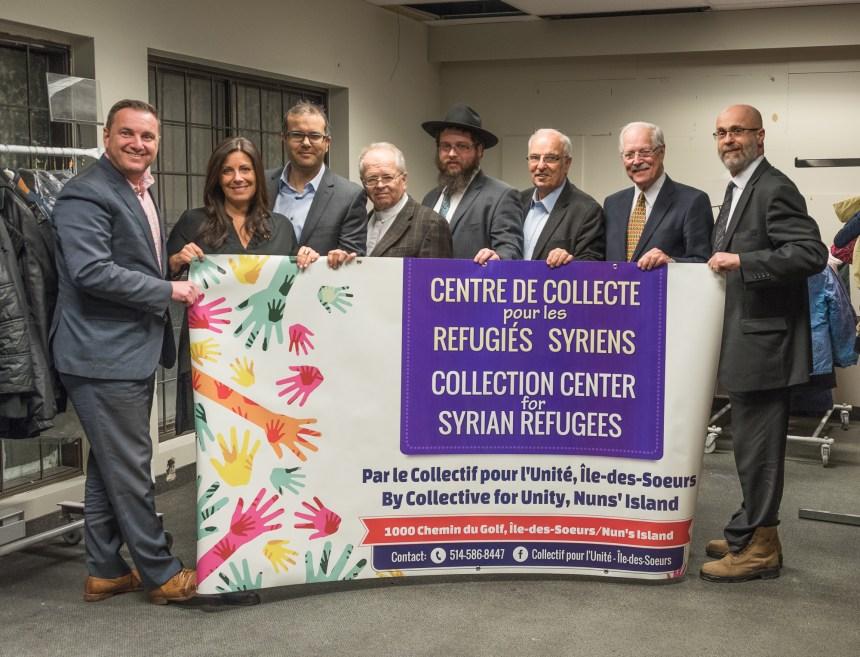 «Collectif pour l'unité»: unis pour les réfugiés