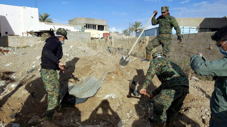 Irak: 40 corps sont retrouvés dans une fosse commune à Ramadi