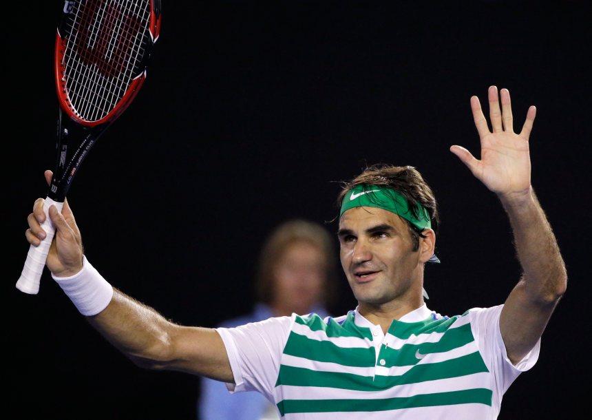 Australie: Djokovic et Federer en quarts