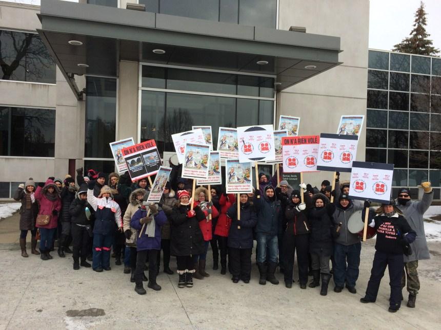 Grève déclenchée à Saint-Léonard