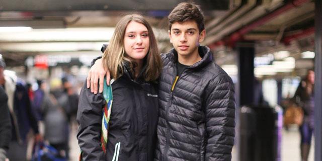 Un couple d'adolescents fait rire de lui sur «Humans of New York»