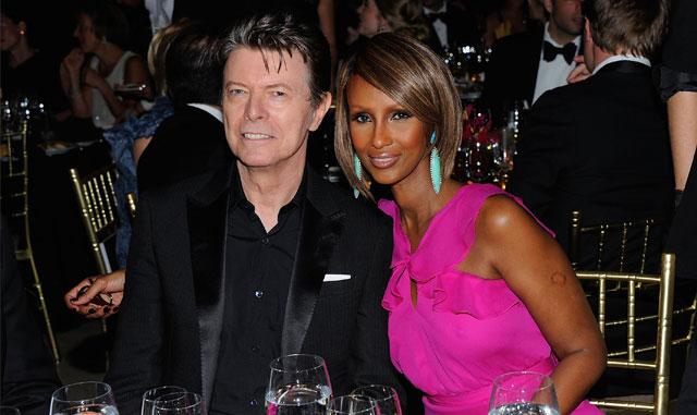 Iman tient bon suite à la mort de son mari David Bowie