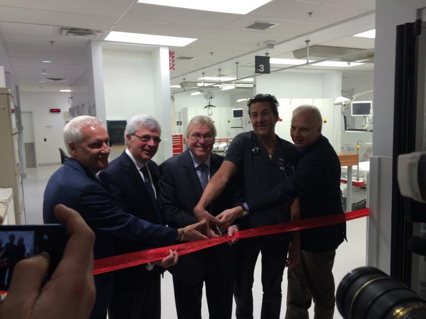 Inauguration de la nouvelle urgence de Maisonneuve-Rosemont