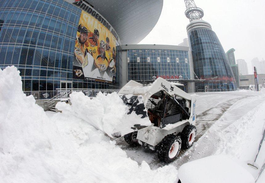 LNH: Deux matchs reportés à cause du blizzard