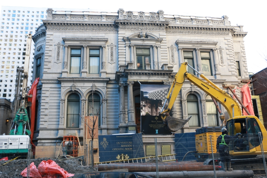 Maison Mount Stephen : le maire Coderre veut avoir des réponses
