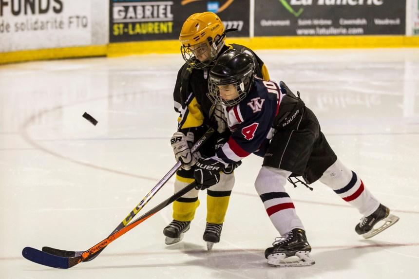 Hockey : le 25e tournoi interrégional de Saint-Laurent bat son plein