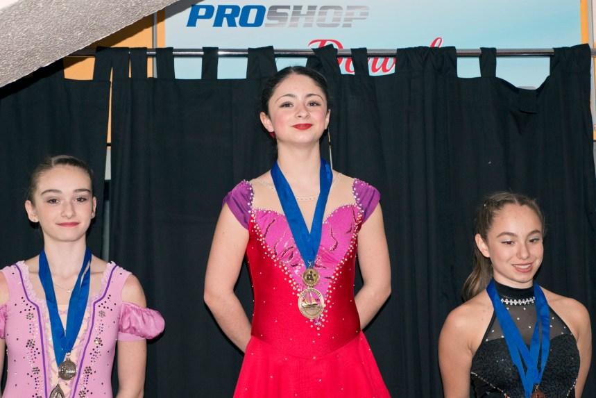 Patinage artistique: Olivia Laporte en route vers les finales provinciales
