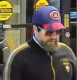 Suspect recherché pour sept vols de banque