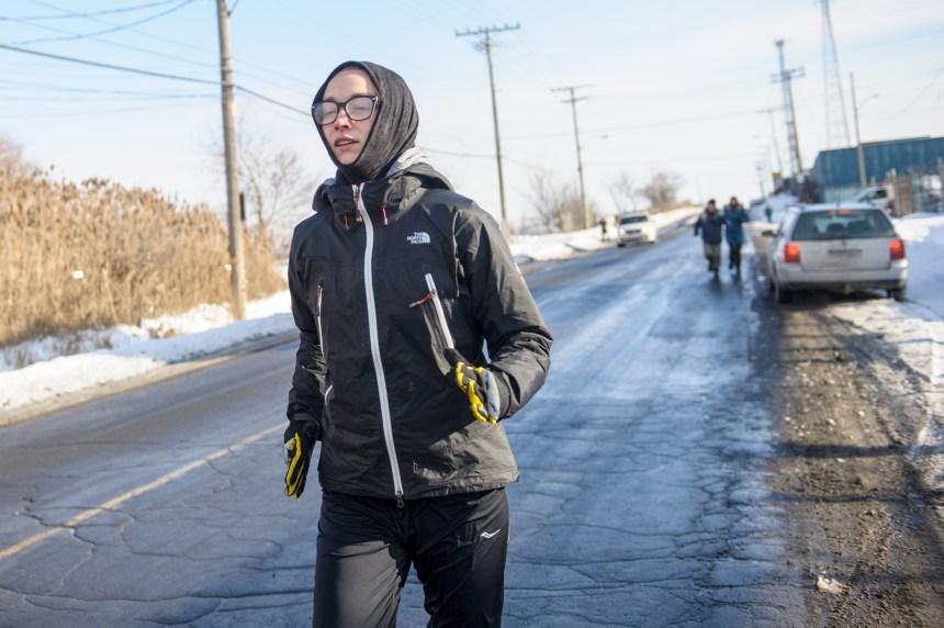 Une militante court 830 km pour manifester contre Enbridge