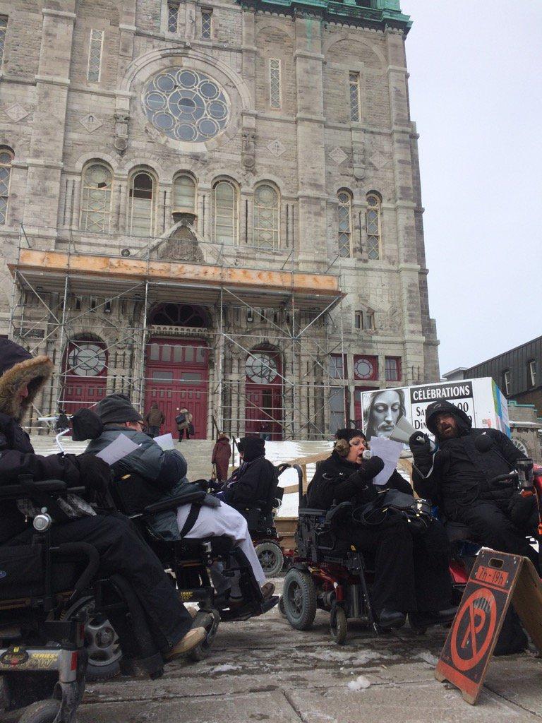 Le RAPLIQ perturbe des célébrations à l'église Très-Saint-Nom-de-Jésus