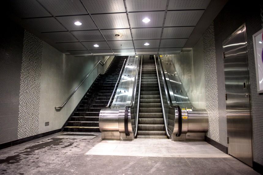 La station de métro Berri-UQAM en chantier jusqu'en 2017