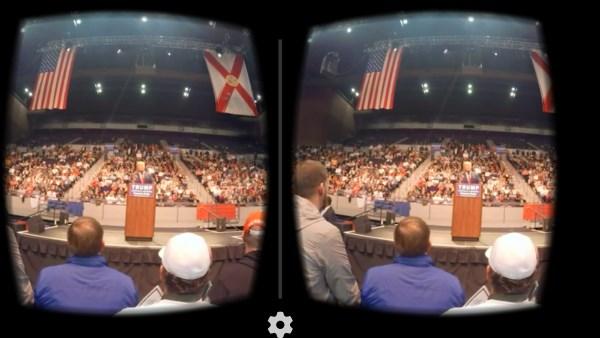 Le New York Times montre la campagne présidentielle en réalité virtuelle