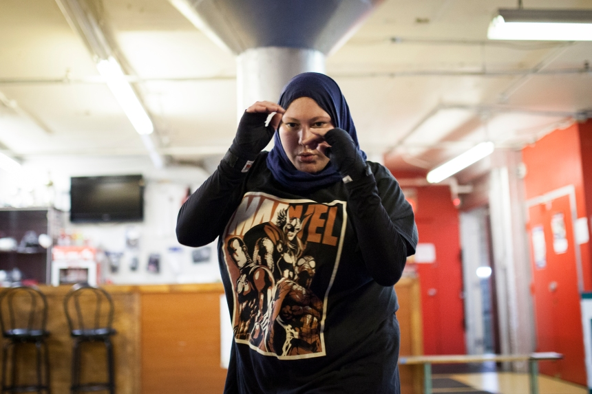 Hayat, l'islam et le kick-boxing