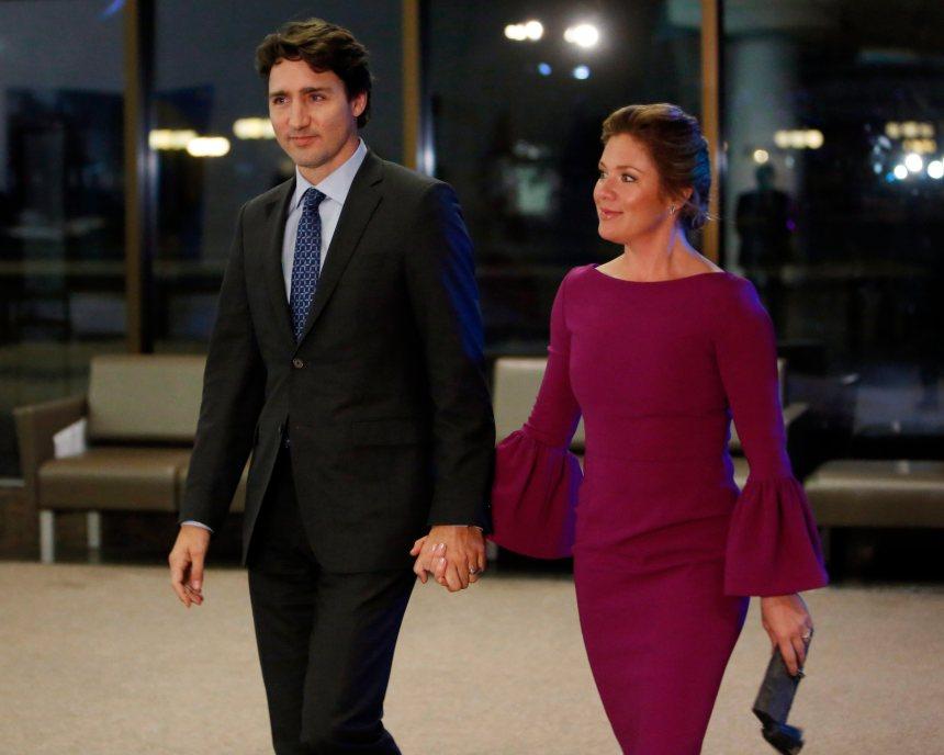 Justin Trudeau et sa famille se rendent au Carnaval de Québec