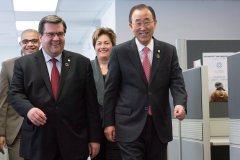 Ban Ki-moon salue les efforts de Montréal pour lutter contre la radicalisation
