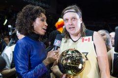 Win Butler commente l'élection américaine au match des étoiles de la NBA