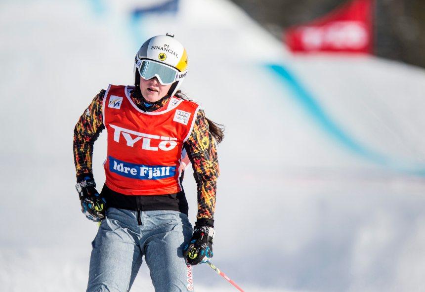 Thompson triomphe en ski cross à la Coupe du monde d'Idre