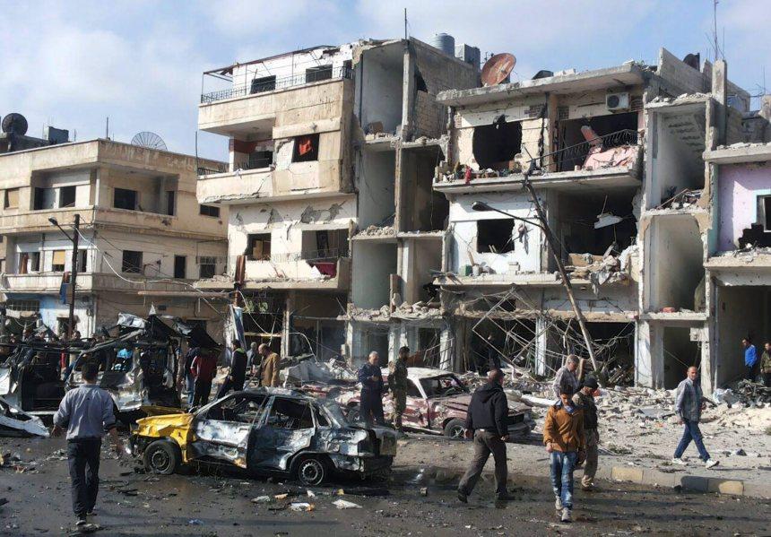 Deux attentats à Homs font au moins 46 morts