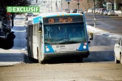 Les accidents d'autobus en hausse à la STM