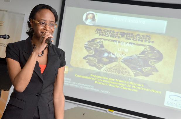 Monica Ricourt, passionnée de politique, fière de ses origines