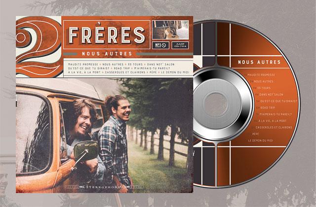 Le duo 2Frères reçoit un disque d'or pour leur album «Nous autres»