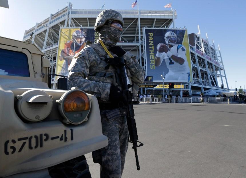 Sécurité accrue pour le Super Bowl