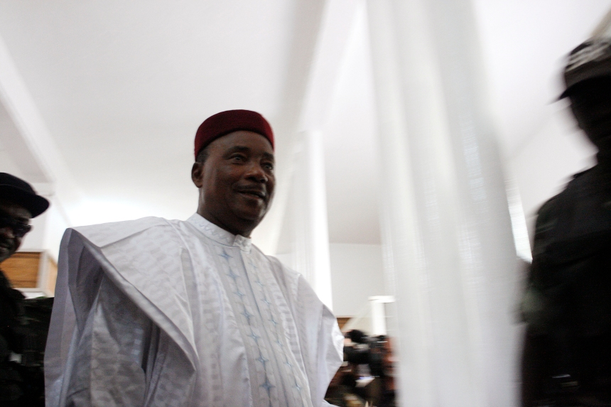 Le président du Niger espère obtenir un deuxième mandat
