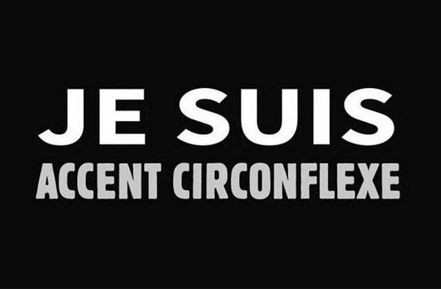 #JeSuisCirconflexe: la twittosphère rend hommage à l'accent qui aurait pu disparaître