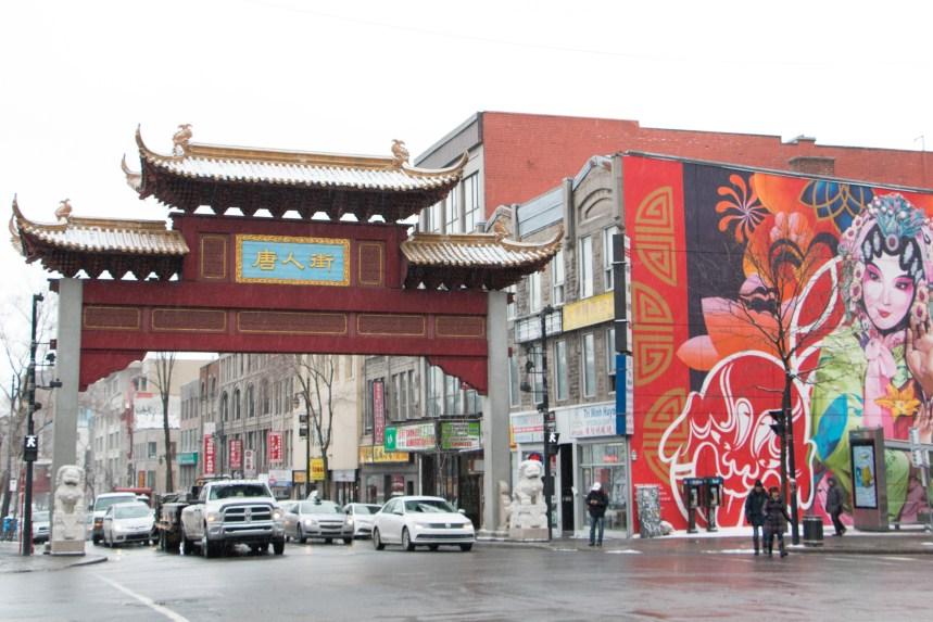 Les arches et la pagode du Quartier chinois restaurées malgré les prix élevés