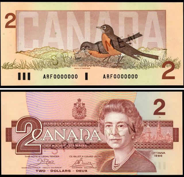 deux dollars