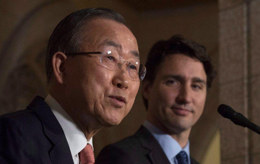 Le Canada doit retourner au Conseil de sécurité, dit Trudeau